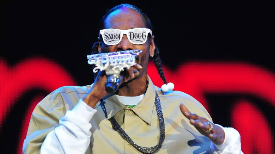O rapper Snoop Dogg