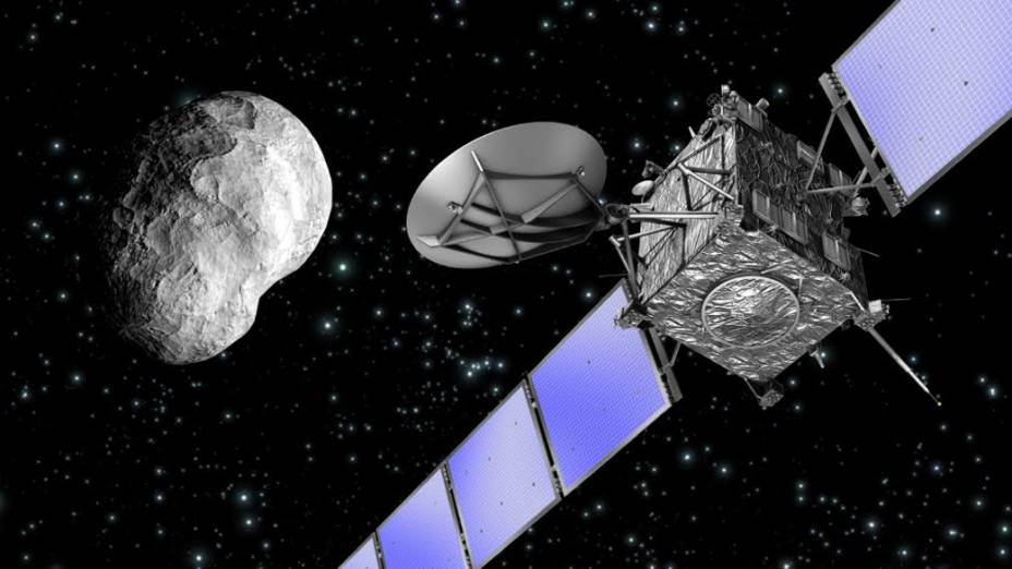 Cometa 67P Churyumov-Gerasimenko e a sonda Rosetta