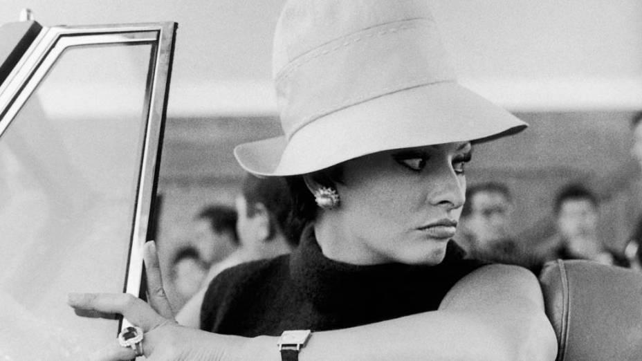 Sophia Loren no filme Ontem, Hoje e Amanhã, de 1963