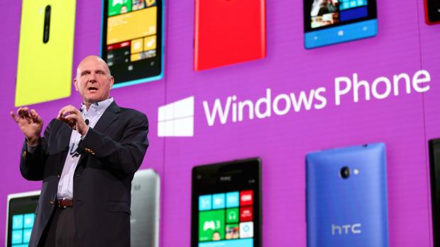 Steve Ballmer, CEO da Microsoft