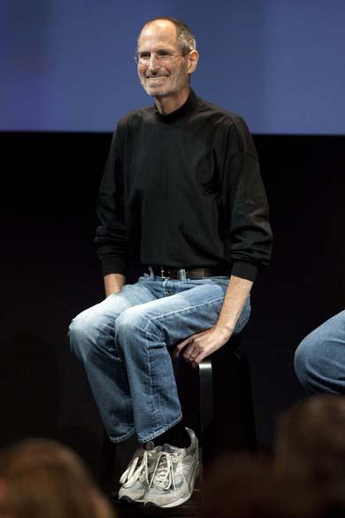 Steve Jobs fala sobre o iPhone 4, durante coletiva para imprensa, 2010<br><br>