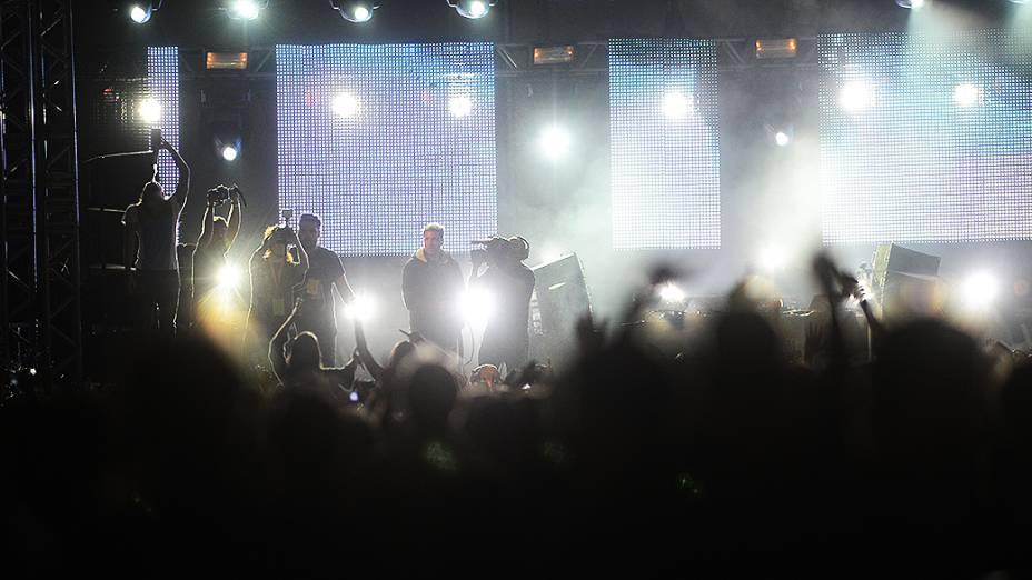 Apresentação do Steve Aoki no segundo dia do Lollapalooza - Ivan Pacheco