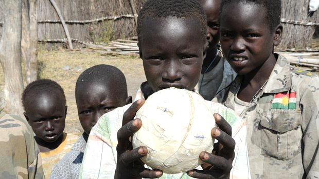 Crianças do estado de Jonglei, no Sudão do Sul