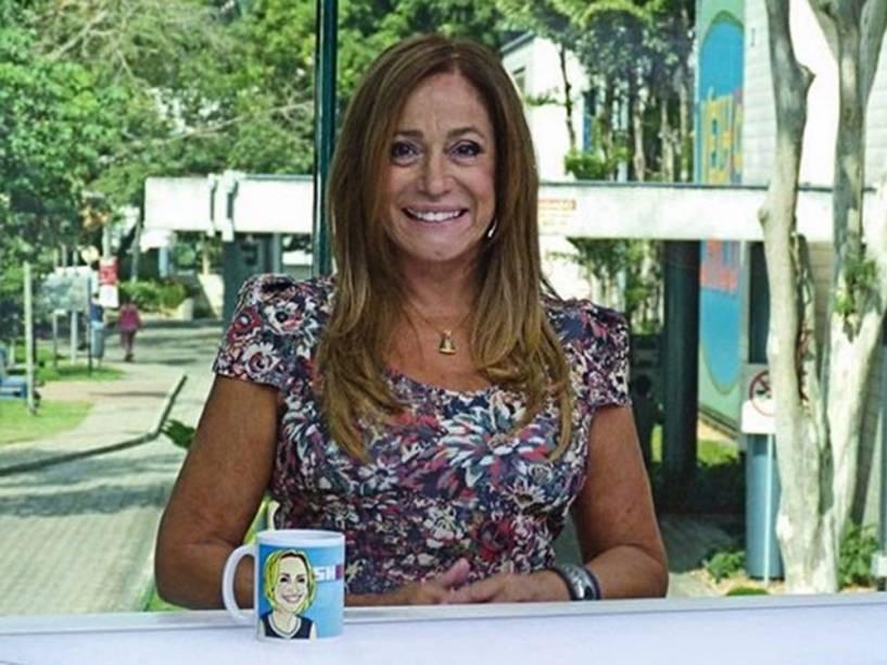 Susana Vieira no Vídeo Show