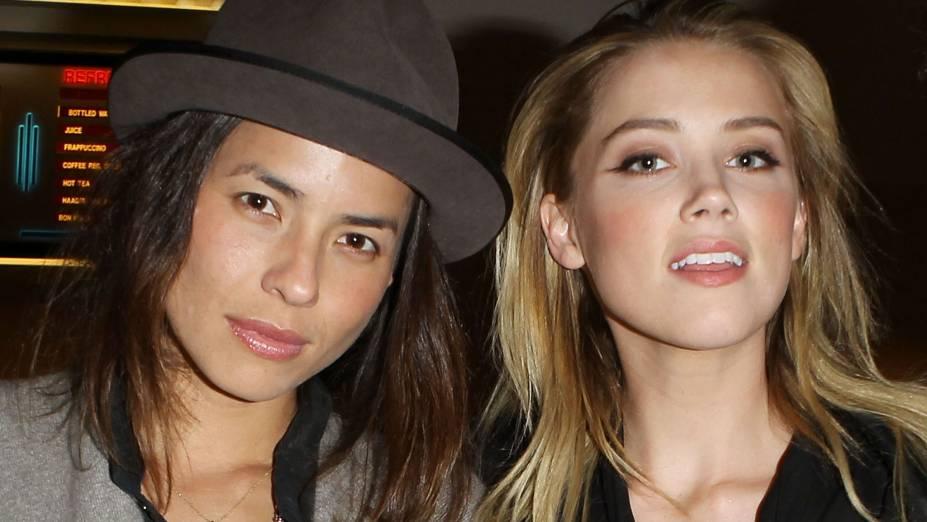 Tasya Van Ree e Amber Heard
