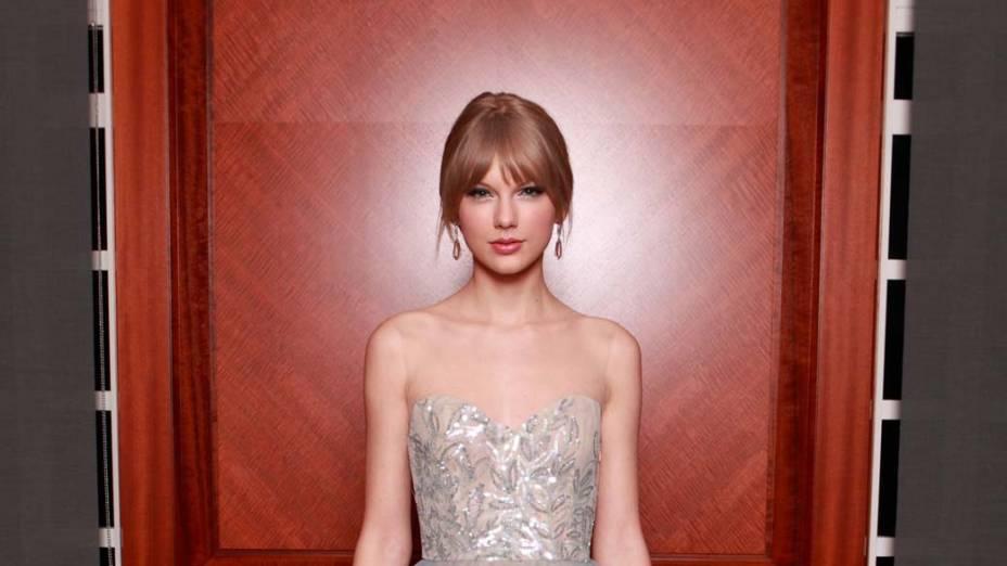 Taylor Swift no evento anual de Nashville Symphony Ball, em 2011, nos Estados Unidos