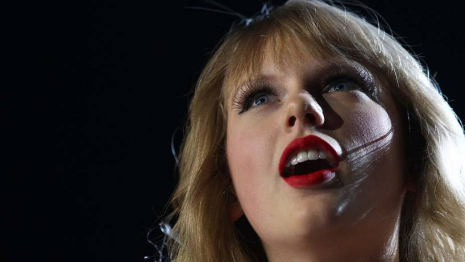 Taylor Swift durante show na Austrália, em 2012