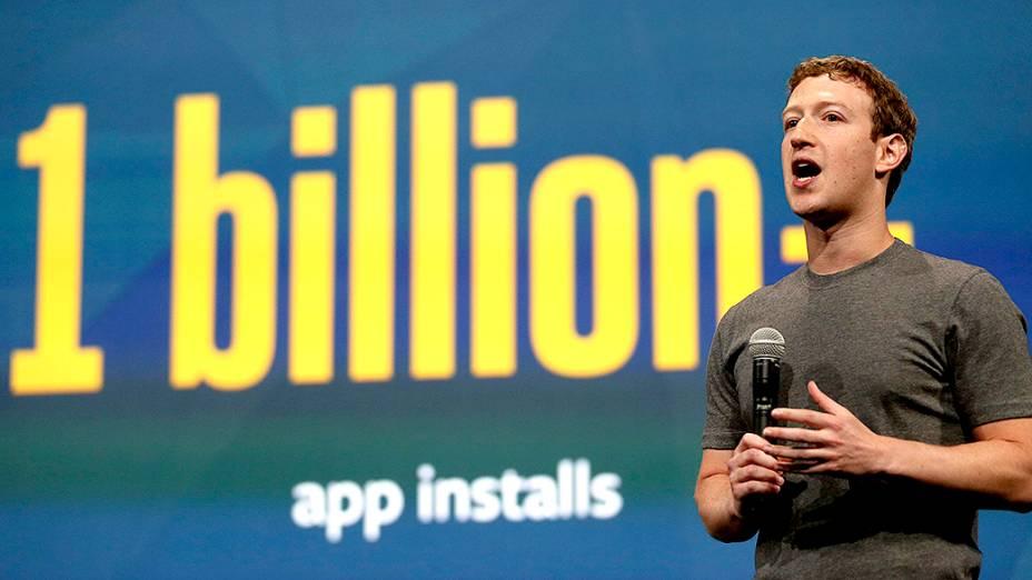 De acordo com a rede social, mais de 1 bilhão de aplicativos presentes na rede social foram instalados