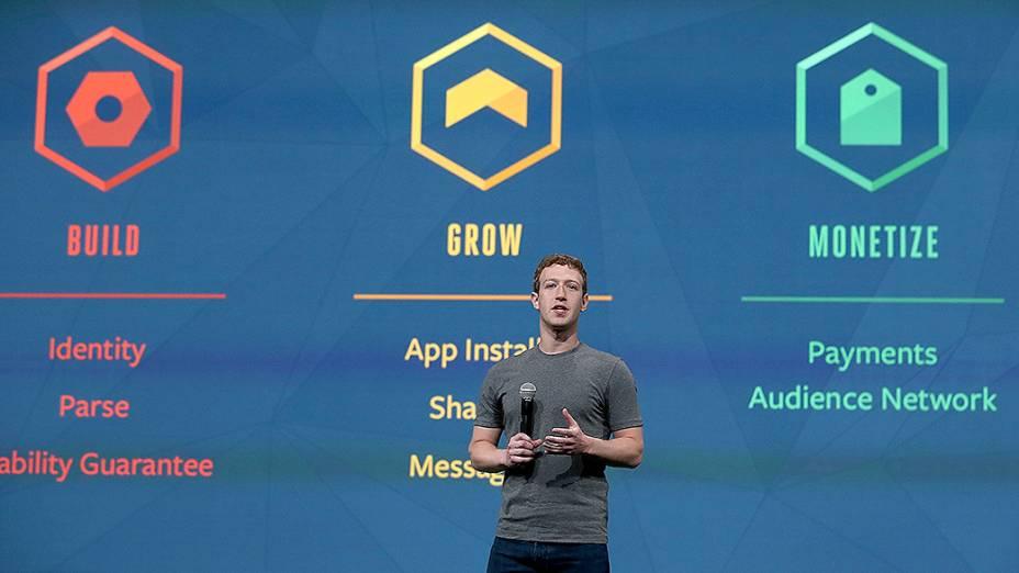 O discurso de Zuckerberg foi acompanhado por mais de 2.000 desenvolvedores em São Francisco