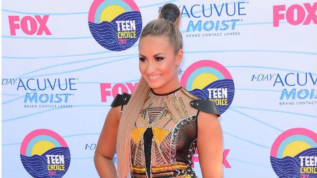 Demi Lovato no Teen Choice Awards, em 2012