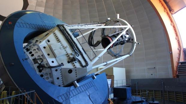 A Câmera de Energia Escura, montada no deserto do Atacama, no Chile