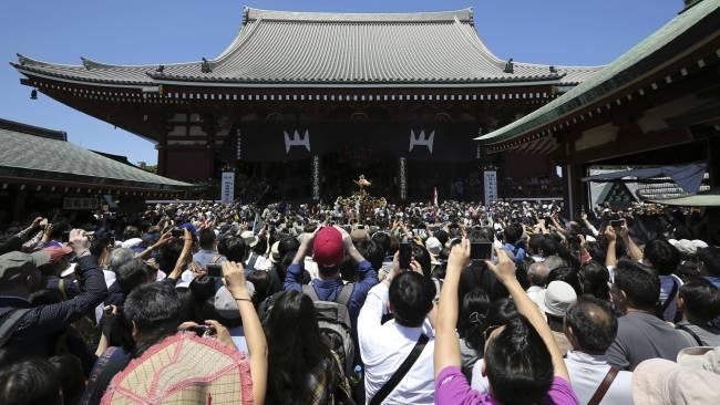 Templo de Sensoji, em Tóquio