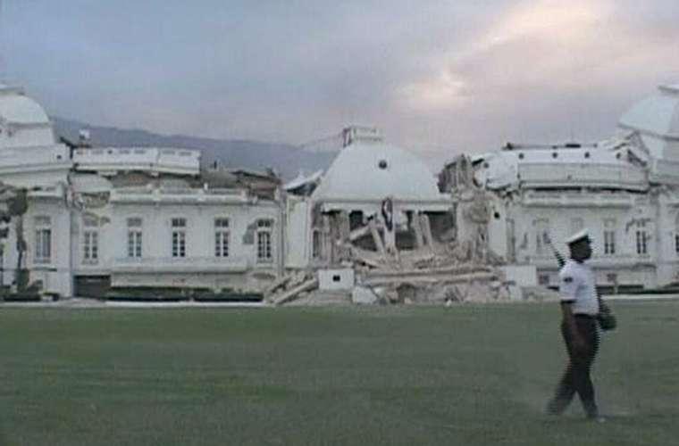 O Palácio Presidencial do Haiti.