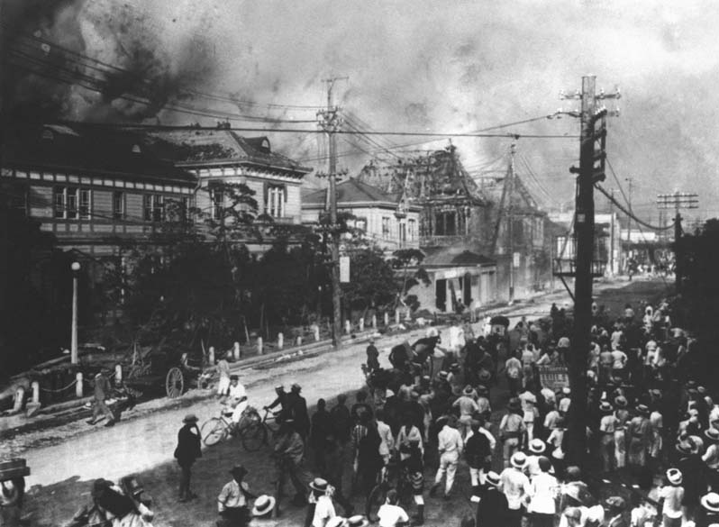 <p>Setembro de 1923: 140 mil mortos na planíce de Kuwanto</p>