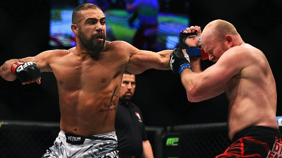 Thales Leites vence Tim Boetsch no UFC 183, em Las Vegas