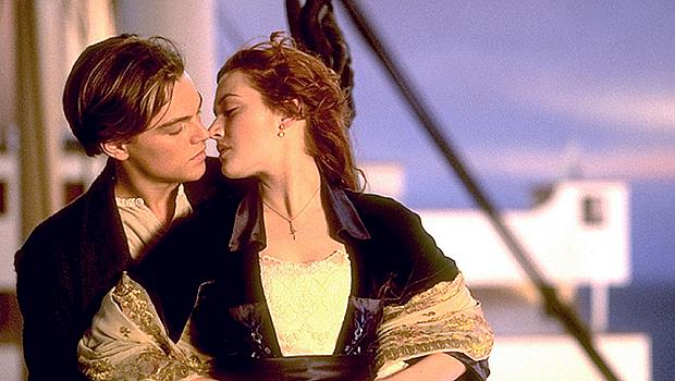<p>Cena de Titanic, com Leonardo DiCaprio e Kate Winslet</p>
