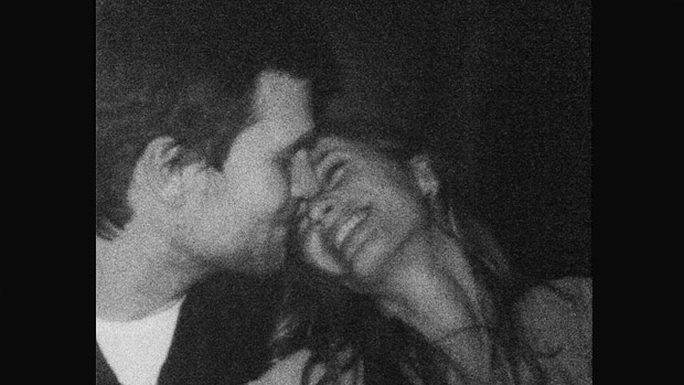 Tom Brady e Gisele, em foto publicada por ela para comemorar o aniversário do marido