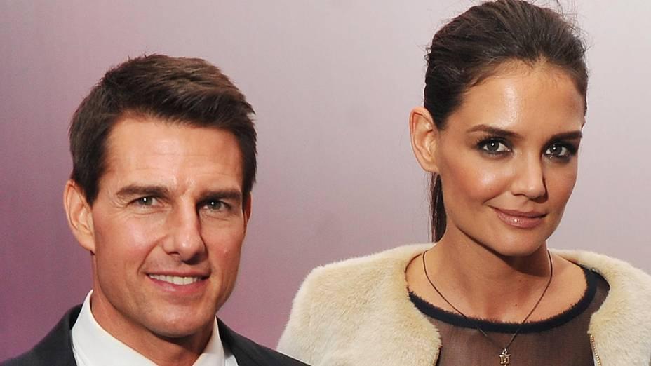 Tom Cruise e Katie Holmes: até que a cientologia os separe