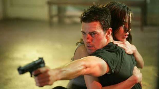 """Tom Cruise no filme """"Missão Impossível 4"""""""