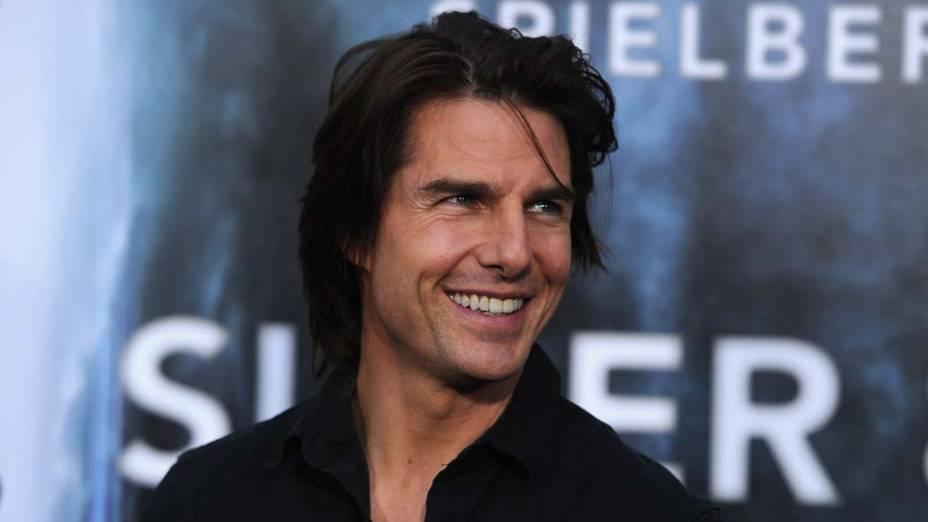 """Tom Cruise durante a estreia de """"Super 8"""" na Califórnia"""