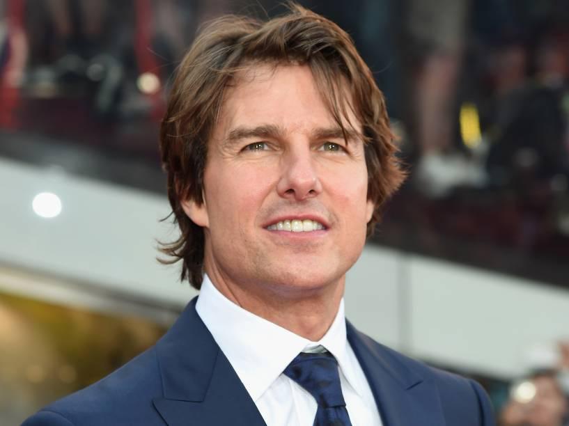 Tom Cruise no lançamento de Missão Impossível - Nação Secreta, em junho de 2015