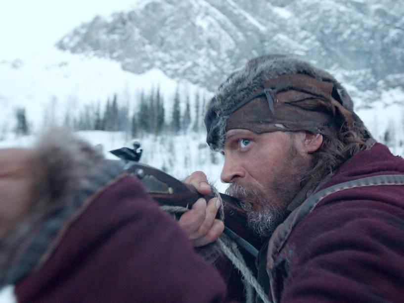 Tom Hardy no filme O Regresso