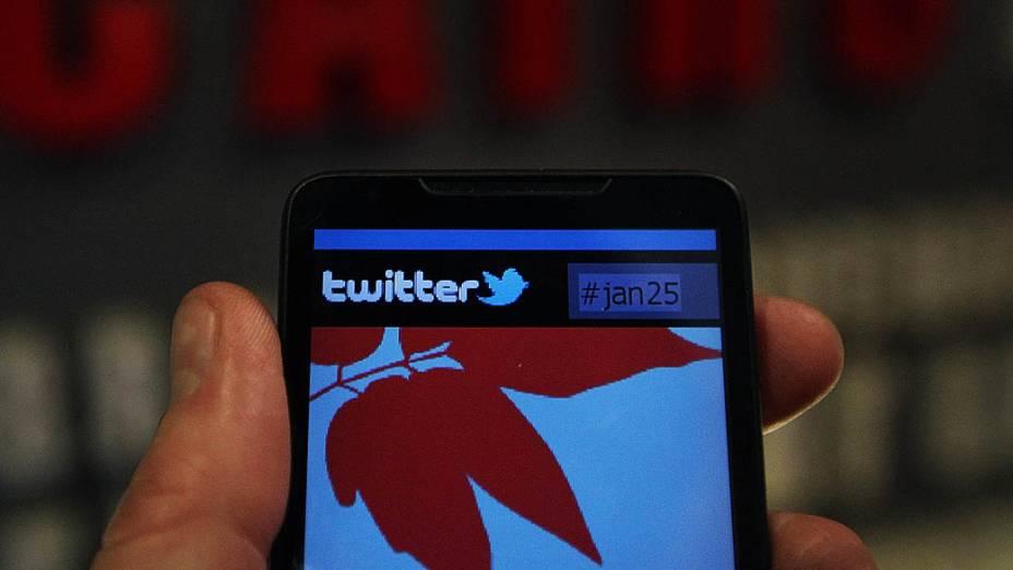 Acesso do Twitter a partir de dispositivos móveis
