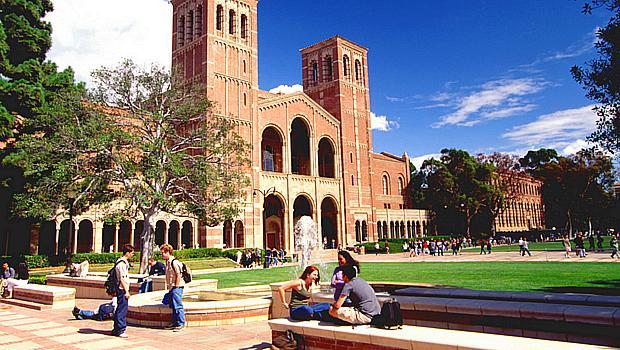 Universidade da Califórnia, Los Angeles (UCLA), nos Estados Unidos - 8º lugar no ranking de reputação da revista THE