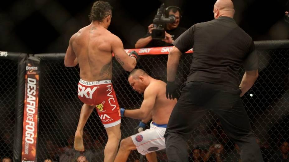 UFC Goiânia: Vitor Belfort derrota Dan Henderson