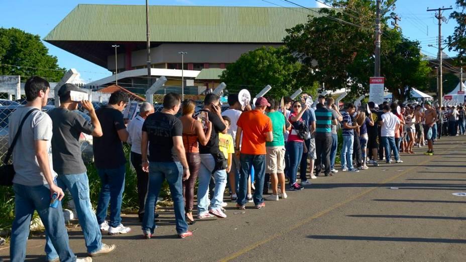 UFC em Goiânia: a chegada do público à arena