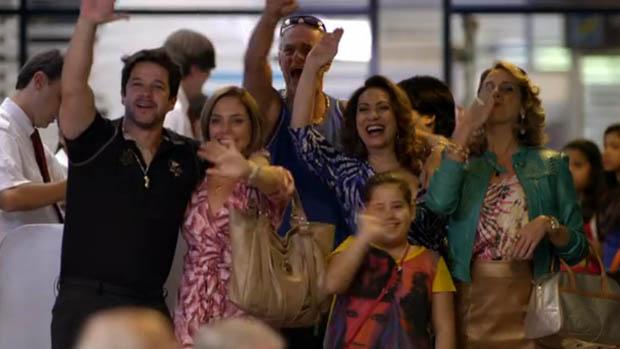 Jorginho e Nina viajam