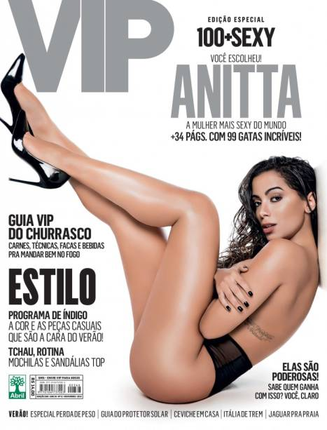 Anitta é eleita a mulher mais sexy do mundo em 2015