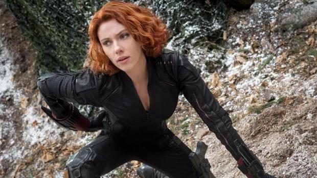 Viúva Negra (Scarlett Johansson) em Vingadores: Era de Ultron