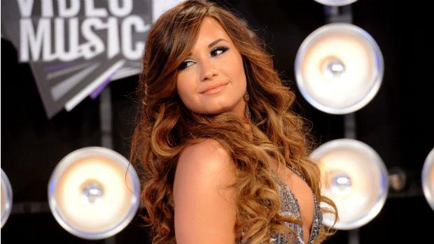 Demi Lovato no VMA, premiação da MTV americana, em 2011