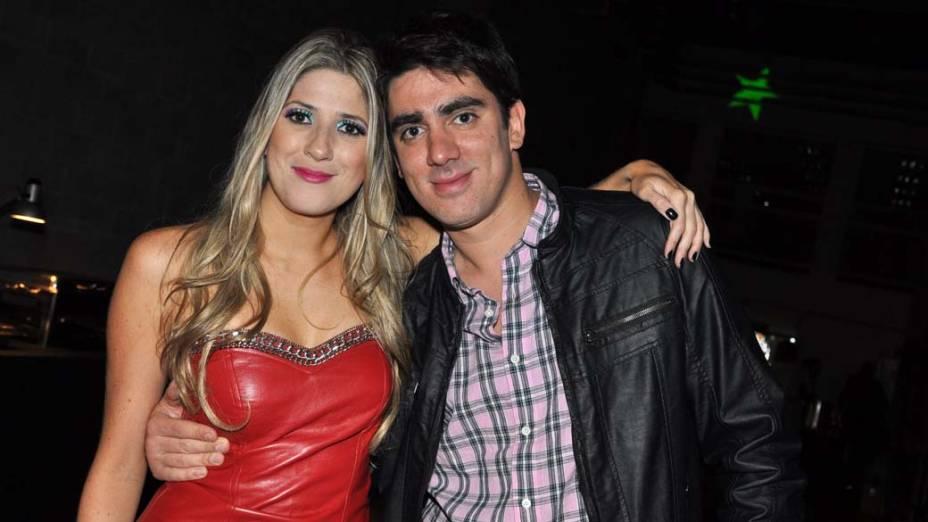 Dani Calabresa e Marcelo Adnet durante o VMB 2011 em São Paulo
