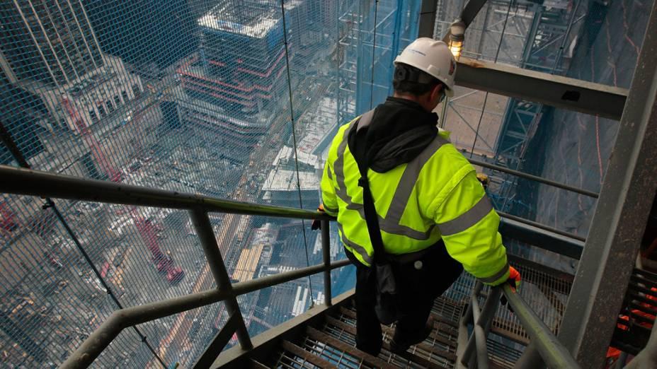 Supervisor da construção do One World Trade Center em Nova York