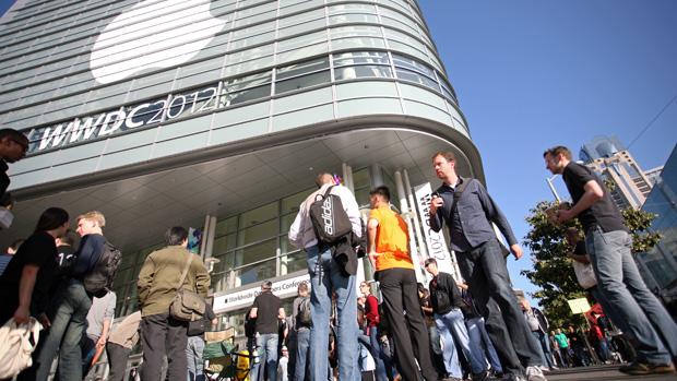 Edição 2012 da World Wide Developers Conference (WWDC), em São Francisco, na Califórnia