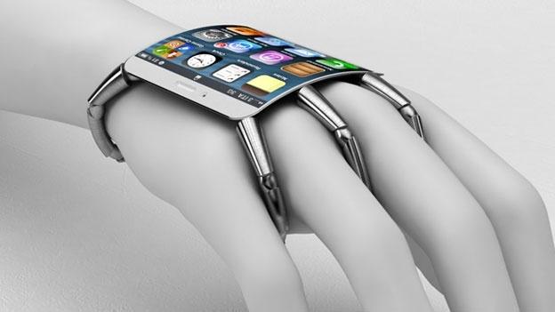 Esse modelo de iPhone não parece muito prático para o nosso cotidiano. Talvez essa ideia faça sucesso no futuro