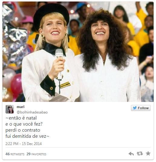 Xuxa e Simone cantam versão de Então, É Natal