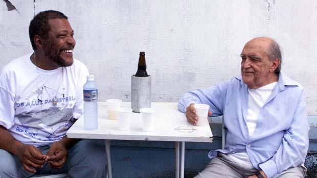 Martinho da Vila e Oscar Niemeyer
