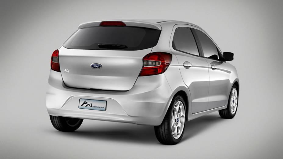 Ford revelou o novo Ka Concept hatch em novembro