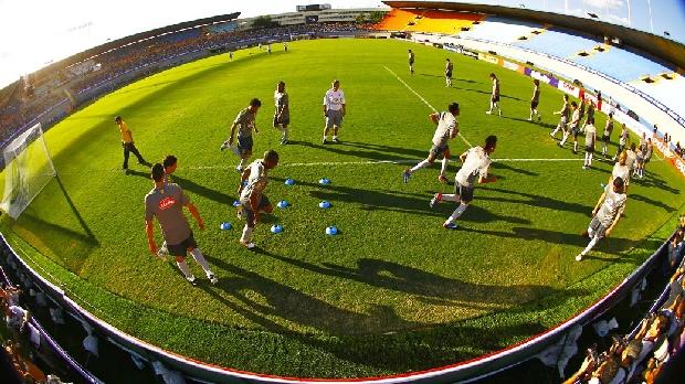 Seleção realiza treino livre em Goiânia