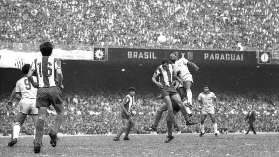No dia 31 de agosto de 1969, o Maracanã teve seu recorde de público: 183.341 torcedores acompanharam a partida entre Brasil e Paraguai nas eliminatórias da Copa do Mundo