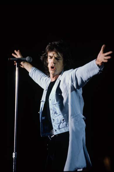 Os roqueiros do Rolling Stones escolheram o Maracanã para se apresentar em 1995