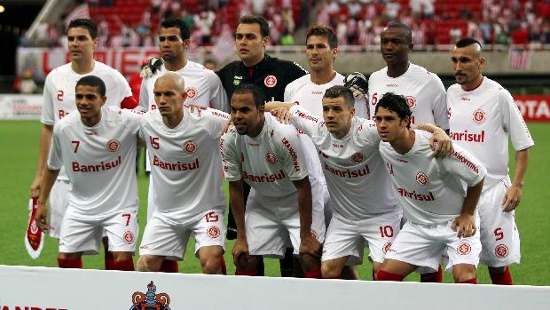 Internacional antes da primeira partida da final da Libertadores 2010