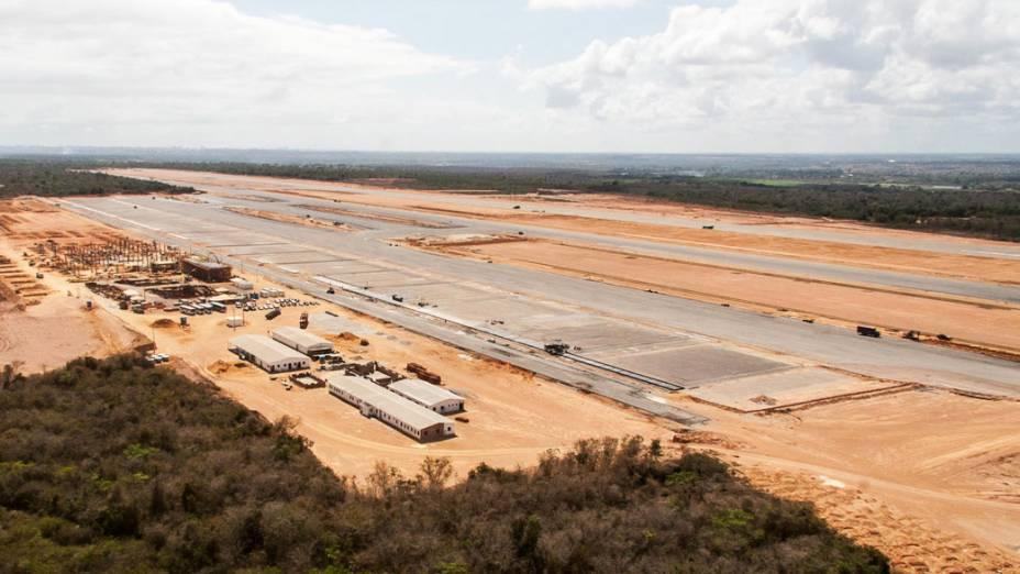 Construção do Aeroporto Internacional São Gonçado do Amarante, na região metropolitana de Natal