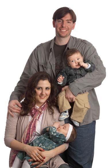 Em poucos itens, o casal Adriana e Dan Printes economizou quase 2 000 reais no enxoval dos gêmeos Natalia e Erick, de 7 meses