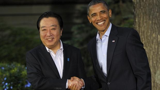 Obama recebe o premiê japonês Yoshihiko Noda