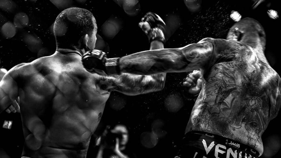Thiago Silva vence Rafael Feijão pelo Card Principal do The Ultimate Fighter, em Fortaleza