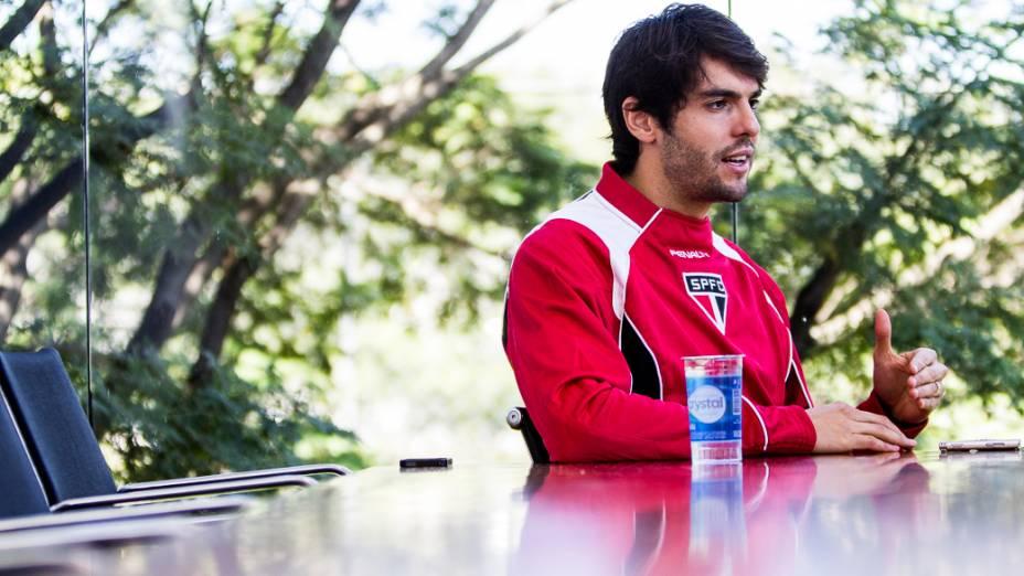 Kaká só pensa em jogar: quer ser campeão no São Paulo e referência no futebol nos EUA